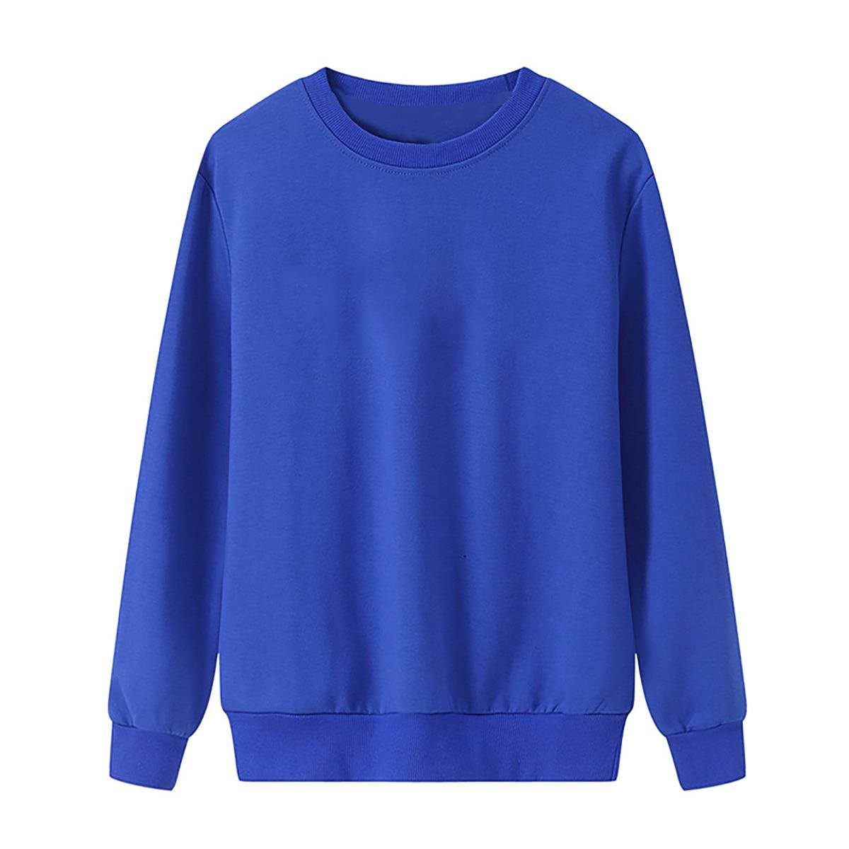 Solid Color Sweatshirt Women Casual Hoodie Fashion Winter Autumn Lasdies Pullover Fleece Black White Blue Red Gray Streetwear
