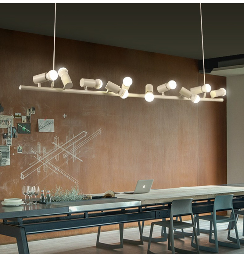 BOKT Morden Lighting Multi Kitchen Island Chandelier Lighting American Industrial LOFT Bar Cafe bird Decor Hanging Lamp 110-250V bokt черный