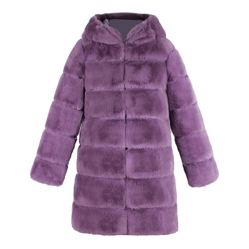 Zipper Winter Coat Women 2018 Sleeveless Fur Cashmere Hoodie Coat Girl Warm Pullover Thick Coat femenino #N28 (14)