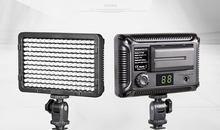 12W Digital Photography Flash with 176pcs LED lights Panel LED Flash Light Lamp with Filter For Canon For Sony DSLR Camera