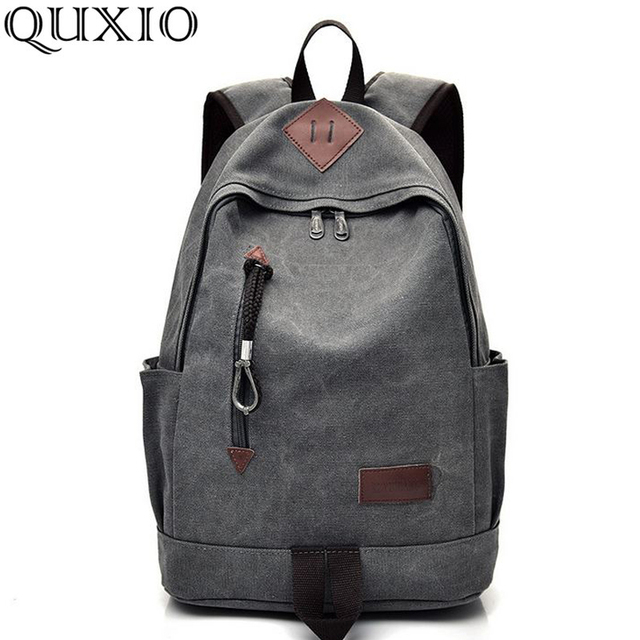 3d6da4e9f8 Backpacks for women 2018 Fashion trend backpack men s casual canvas  backpack retro travel bag High school