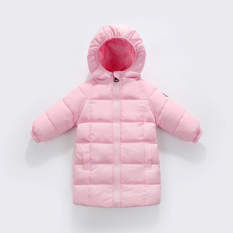 2018 new autumn and winter children's down jacket boys and girls baby infant long down jacket children jacket long coat MF-204 2017 children winter clothes boys and girls down jacket long 90