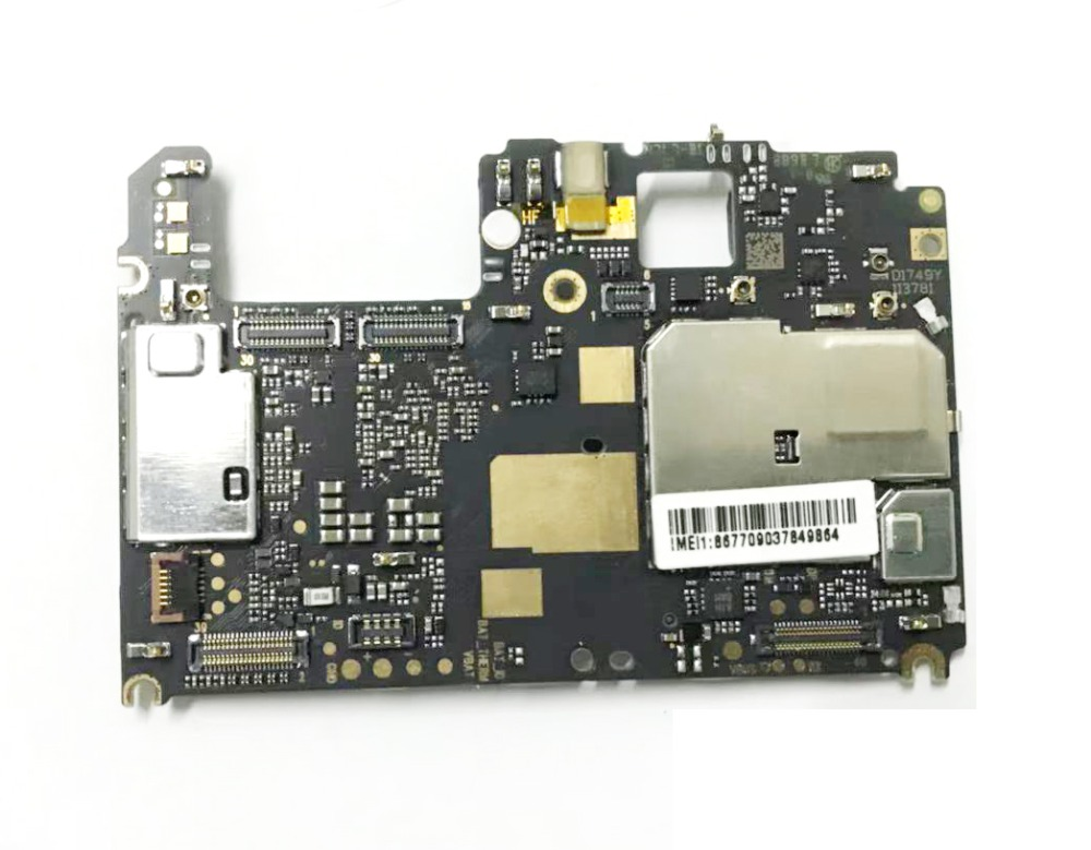 Originaunlocked For Xiaomi 5X A1 Motherboard Android OS 64GB Mainboard For MI 5X A1 Replaced Motherboard  Logic Board