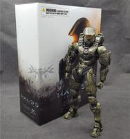HALO Guardians Master Chief PVC 26CM Action Figure Collection Model Dolls Kids Toys Free Shipping Kai