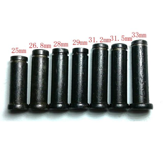 """10 piezas de acero de óxido negro núcleo de la bobina de la máquina de pcsTattoo núcleo de la bobina de la pistola del tatuaje 5/16 """"M4 rosca hecha de 1018 de acero"""