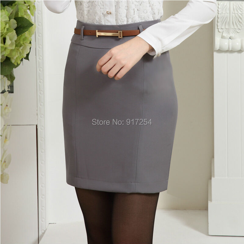 Popular Wear Grey Pencil Skirt-Buy Cheap Wear Grey Pencil Skirt ...