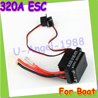 Free Shipping 6 12V 320A RC Ship Boat R C Hobby Brushed Motor Speed Controller W