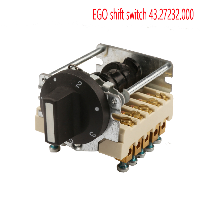 EGO  shift switch 43.27232.000  for commercial kitchen ship equipment, three-phase 6 gear switch for  furnaceEGO  shift switch 43.27232.000  for commercial kitchen ship equipment, three-phase 6 gear switch for  furnace