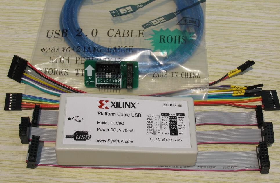 цена на Xilinx, Platform, Cable, USB download line, new firmware, high speed stability