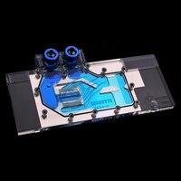 For Gigabyte GTX 980 G1 WF3OC GAMING Jet Full Cover Water Cooling Head Block Radiator