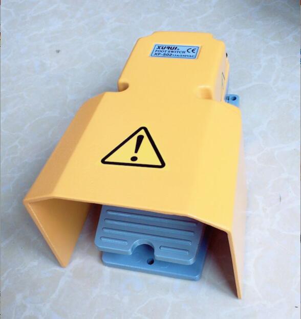 Pedal Switch CFS-502 XF-502 Foot switch for CNC machine aluminum shell AC250V 15A цены онлайн