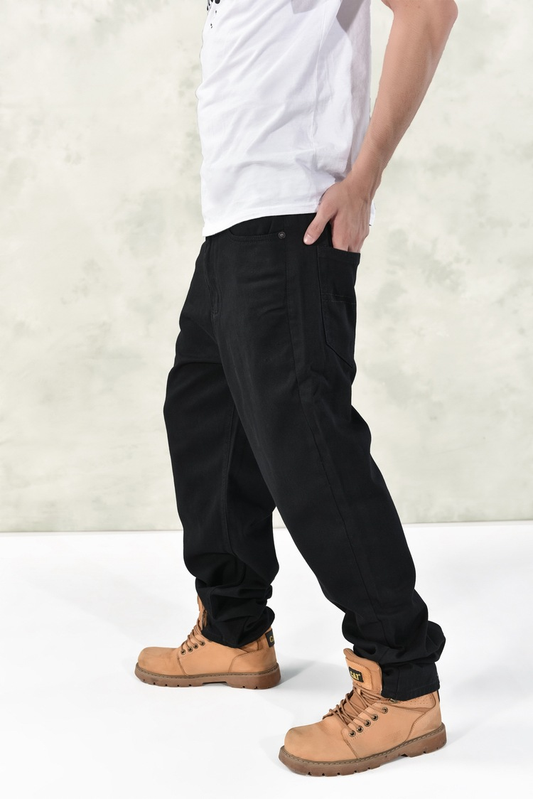 18abf1db61 Black Baggy Jeans Mens
