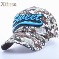 XTHREE New fashion Cotton children camouflage Casual baseball cap girl hat for children summer cap for boy
