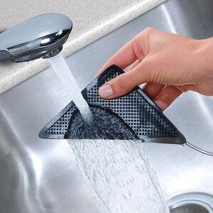 Image 5 - 4Pcs Hause Boden Teppich Teppich Matte Greifer Selbst adhesive Anti Slip Tri Aufkleber Wiederverwendbare Waschbar Silikon Grip Auto parfüm Pad