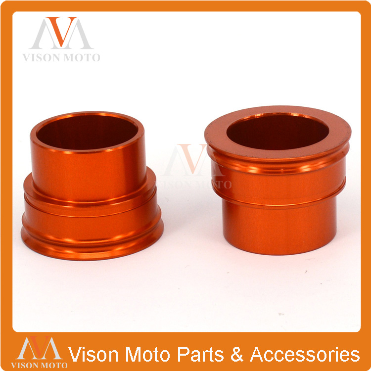Billet Front Wheel Hub Spacers For KTM SX XCF SXF EXC EXCF EXCW XCW XCF SMR 125 250 300 350 400 450 525 530 Dirt Bike Motocross