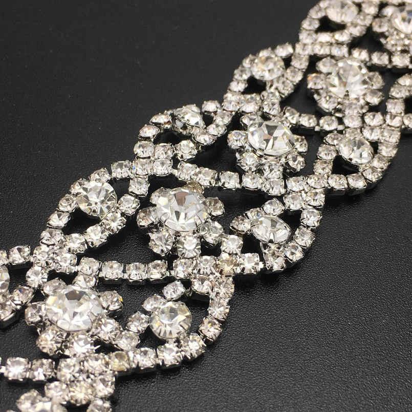 Danfosi Rhinestone choker 2017 Pha Lê Maxi Statement necklace Luxury Cổ Áo chocker chunky necklaces Boho Đồ Trang Sức Gothic