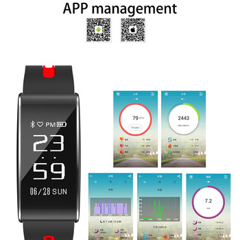 Fashion Smart band Fitness Bracelet Blood Pressure Oxygen Monitor Smart Wristband Fitness Bracelet With Heart Rate Monitor PK X2