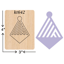 earring  cutting dies 2019 new die cut &wooden Suitable for common machines on the market