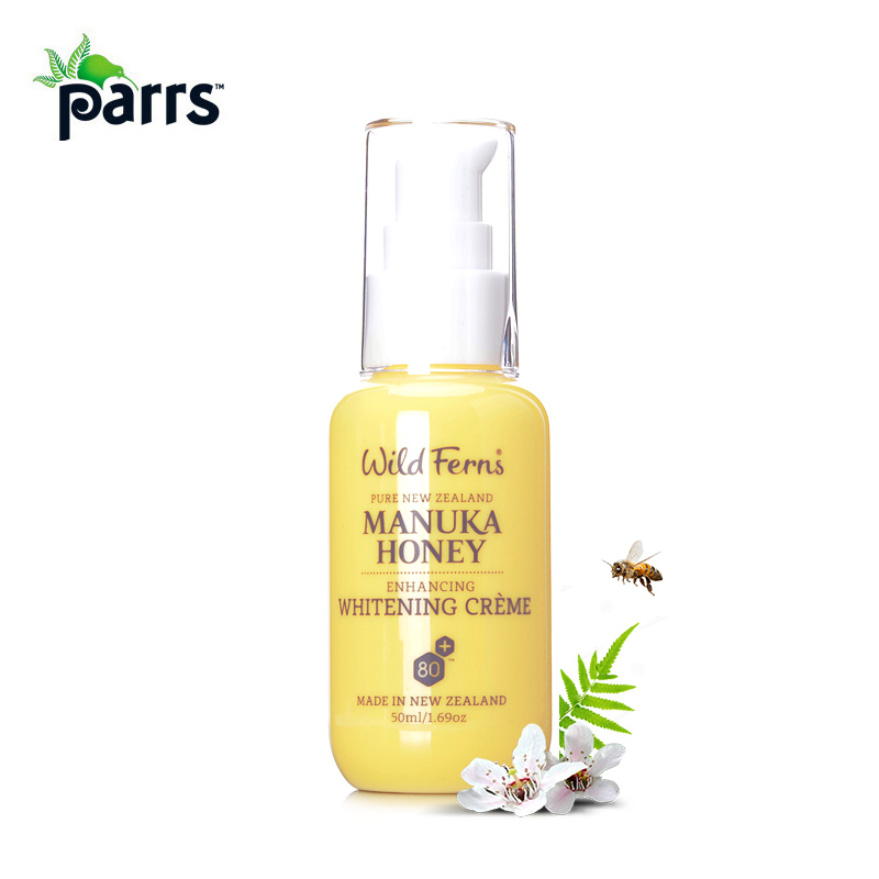 Original NewZealand Parrs Premium Certified Manuka Honey Enhancing Whitening Cream Reduce patches of Pigmentation Age Spots 300ml soft laser carbon cream nano carbon gel cream for skin whitening reduce pigmentation 2pcs set original quality