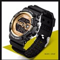 Sanda Brand Men Digital watch LED display Military army wristwatch Outdoor Sports Watch water resistant g100 style Watches