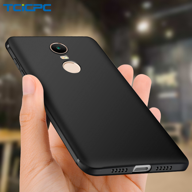 14c7a2991e TCICPC For Xiaomi Redmi Note 4 4X Case Silicone Utral Thin Matte TPU Soft  Back Phone Cover For Redmi Note 4 4X Global Case Coque