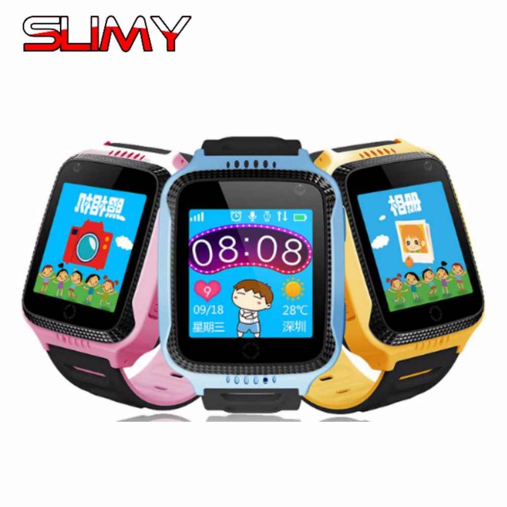 Slimy GPS Smart Watch Baby Watch With Camera for Apple Android Phone Smart Kids Watch Children Gift PK Q90 Q50 Q750 Smartwatcht