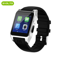 SVELTE 3G Wifi X86 Bluetooth Smart Horloge Android 512 M + 4G met Camera Ondersteuning Sim-kaart Call Playstore Fitness Tracker Anti Verloren(China)