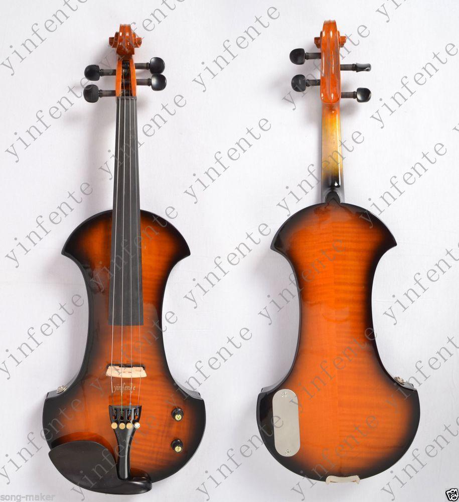New 4-string 4/4 Electric violin patent big jack #7 itasme572 4