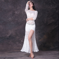 New Belly Dance Costumes Sexy Clothes Indian Dress Oriental Costumes Lace Long Skirt For Women Belly Dancing Clothes