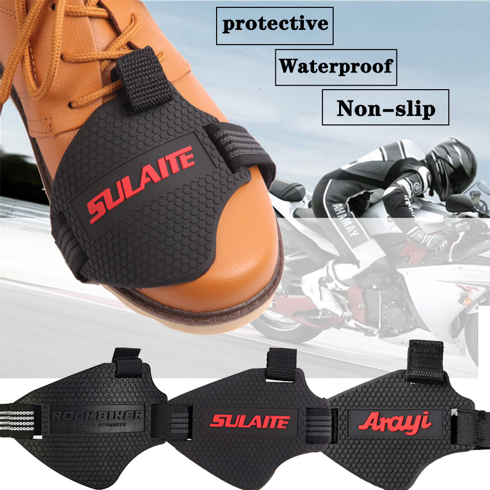 Motorcycle Gear Shifter Shoe Boots Protector Adjustable Shift Sock Boot Cover
