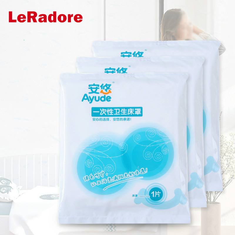 Leradore Bed-Set Duvet-Cover Hotel King-Bed Queen Travel For Full-Twin Non-Woven-Fabric