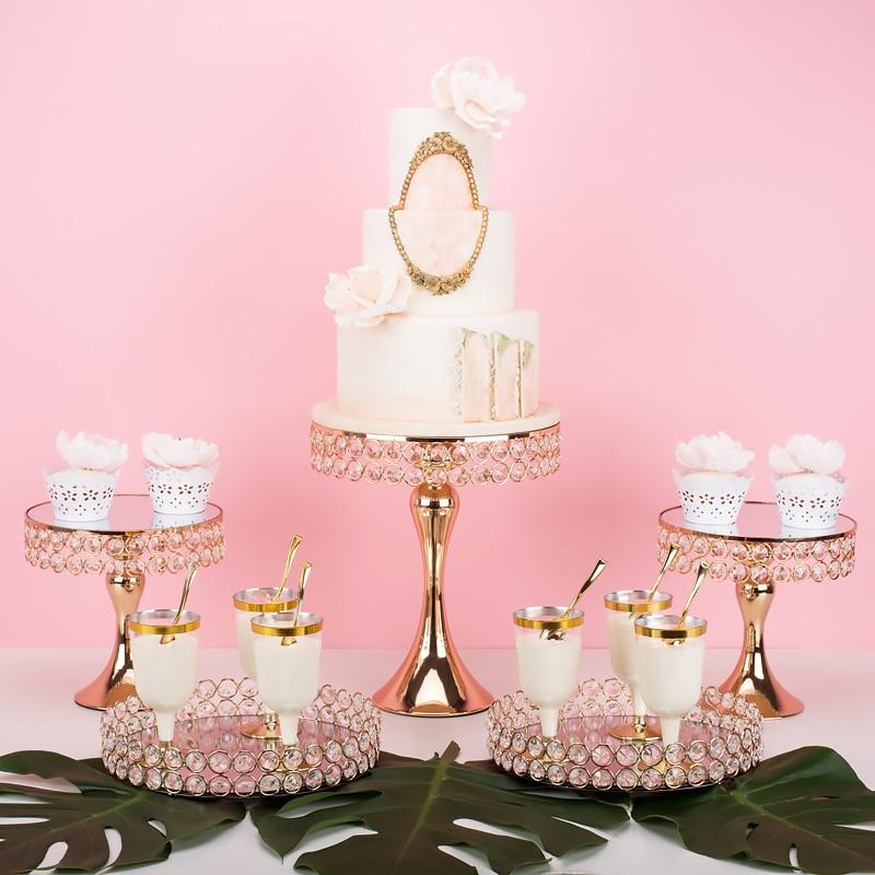 2019 роскошный Торт Свадебный центральный металлический стенд для украшения макияжа стойка для украшения торта десертный стол питьевой контейнер для сладостей