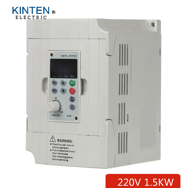 220v 1 5kw 3 phase output variable frequency drive for 3 phase vfd single phase motor