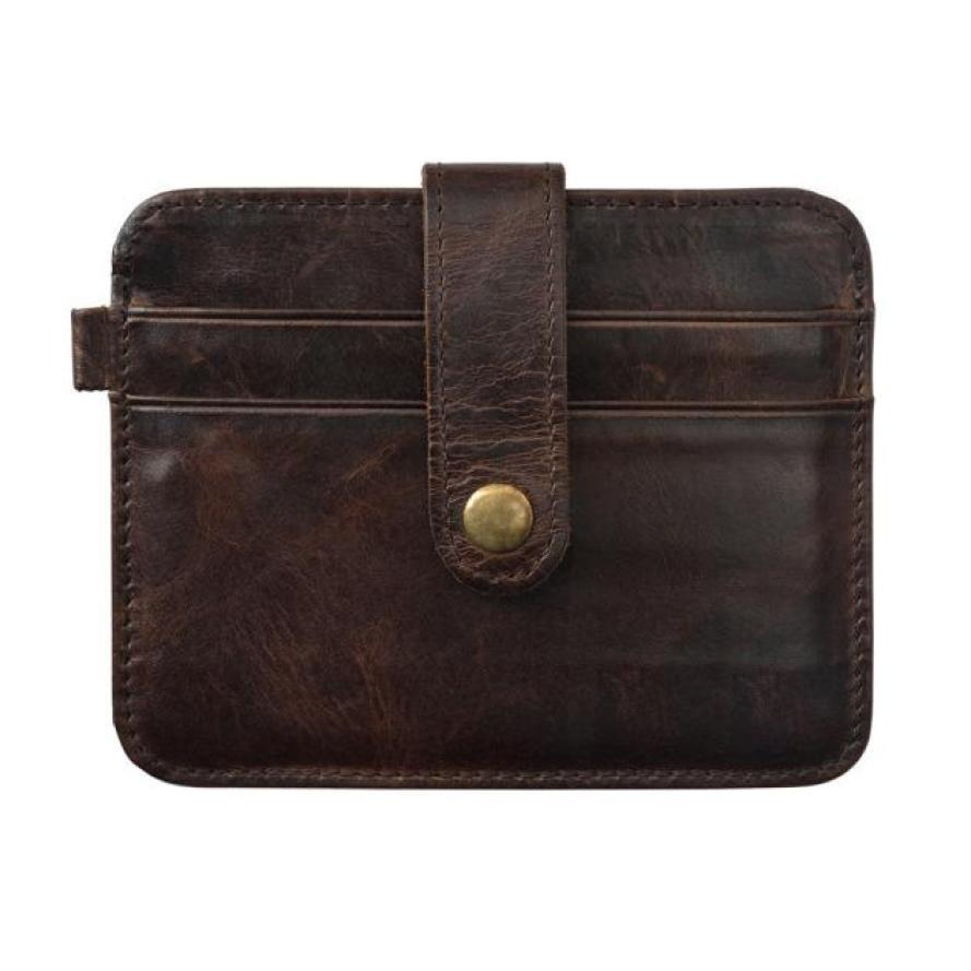 цены  Business Men's Purse Thin Vintage Money Bag Slim Coin Credit Card Holder Mini Wallet ID Case Fashion Handbags Male Gift Pouch