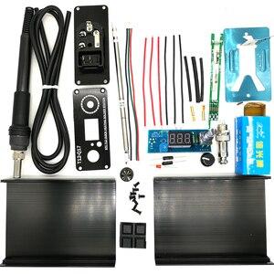 QUICKO-contrôleur de température numérique, Station de fer à souder numérique, Kits de bricolage, interrupteur de vibration pour unité électrique à 12 poignées, 2019