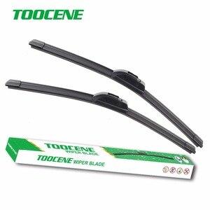 "Toocene windshield Wiper blades for Citroen C1 (2005-2013) 26"" front window Windscreen Rubber Car Auto Accessories"