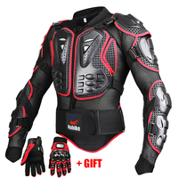 Motorcycle Jackets Full Body Protection BLACK RED ARMOR Turtle Moto Jackets Men Motorcycle Gear Motocross Clothing