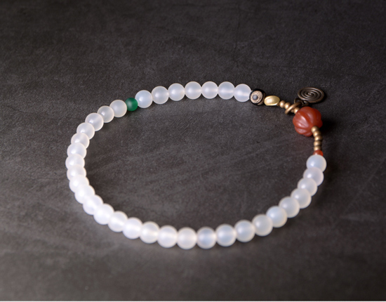 Red-Pumpkin-Agate-Mixed-Buddha-Eyes-Bead-bracelet-Tibetan-Buddhism-Zen-Healing-brass-beads-White-Grey-Agate-Friendship-Jewelry (9)
