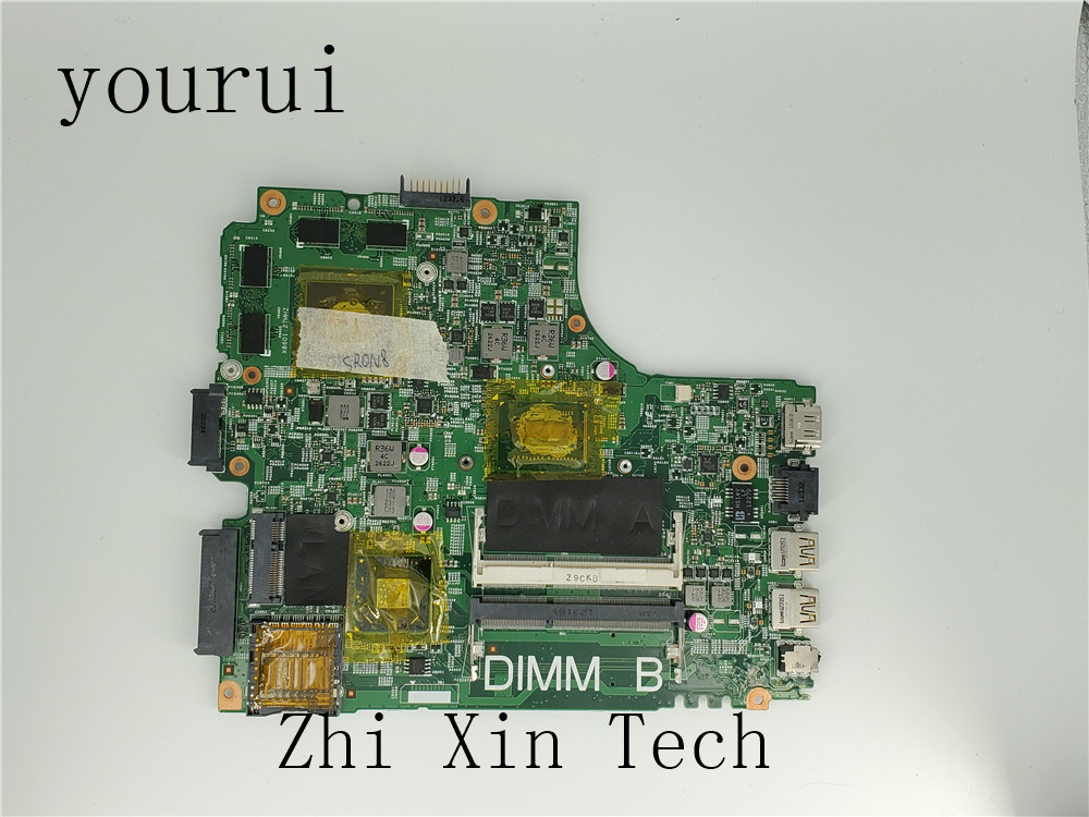 yourui For <font><b>Dell</b></font> Inspiron <font><b>3421</b></font> 5421 Laptop Motherboard 2HTV8 02HTV8 CN-02HTV8 5J8Y4 DDR3 SR0N8 <font><b>i5</b></font>-3317u DDR3 Fully Test image
