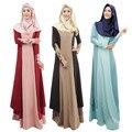 2016 de moda paño recién llegado oferta especial apliques adultos Jilbabs y Abayas malasia mujeres musulmanes visten Color femenino