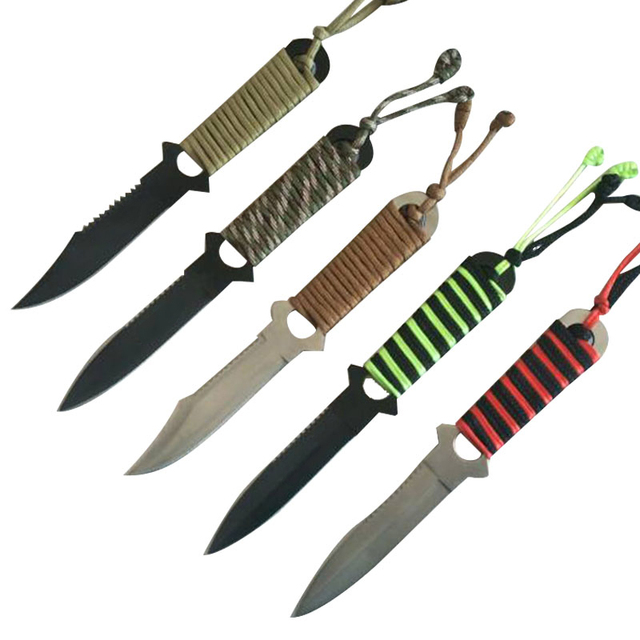 Stainless Steel Straight Diving Knives