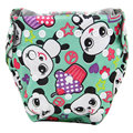 3PCS/lot 2016 New Cloth Training Pants Cartoon Style  Reusable Diapers Bamboo Charcoal  inserts  Baby Nappies gladbaby