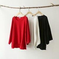 2017 Spring Autumn Plus Size Shirts Women Blouses Long Sleeve Loose Cotton Linen Blouse Tops Black