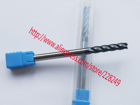 1pc D6 D6 40 150L HRC60 4 Flutes Flat Endmill Tungsten Solide Carbide End Mills For