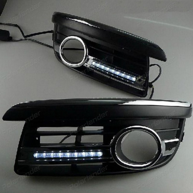 цены  2x car-specific  Car styling for V/W S/agitar 2006 - 2011 auto accessory LED DRL daytime running light
