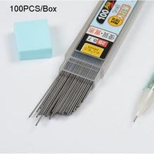 100 шт/кор графитовый свинцовый 2b механический карандаш заправка