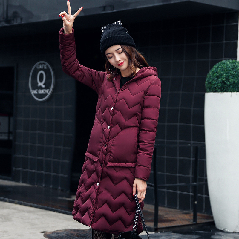 Mujer For Parka Selling Winter burgundy camel Jacket Long Black Hot Coats Ogilvy army Mather New Green gray Section Female Fashional 2018 Parkas Women qwqa4P