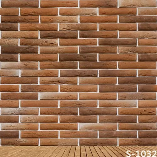 Brown Stick Wall For Studio Photos Vinyl Backdrops Computer Printed Digital Background Cloth 5X7FT Photography Spray Backgrounds