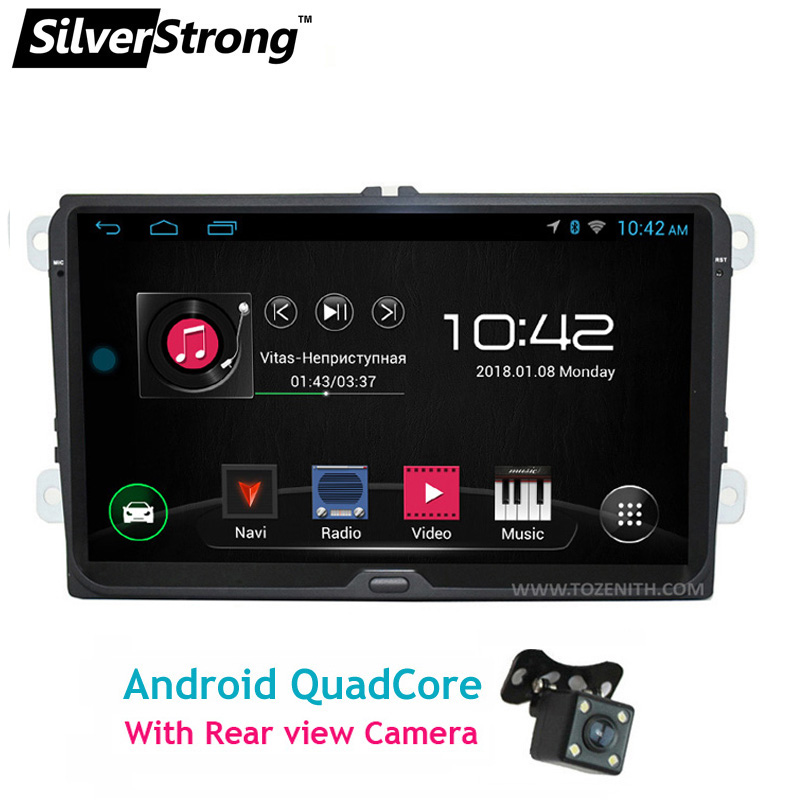 SilverStrong 9 polegada Android GPS Do Carro Para O Passat B6 B7 Navi Rádio Para Volkswagen mk6 Golf5 V W Polo Touran jetta mk5 mk6-67 s