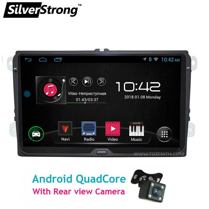 SilverStrong 9 pollici Android GPS Per Auto Per Passat B6 B7 Radio Per Volkswagen Golf5 mk6 Navi V W Polo Touran jetta mk5 mk6-67 s